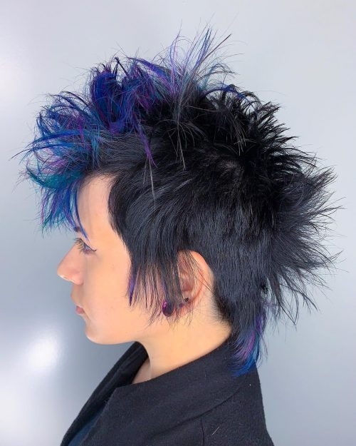 13 Of The Boldest Short Spiky Hair Pictures And Ideas For 2021