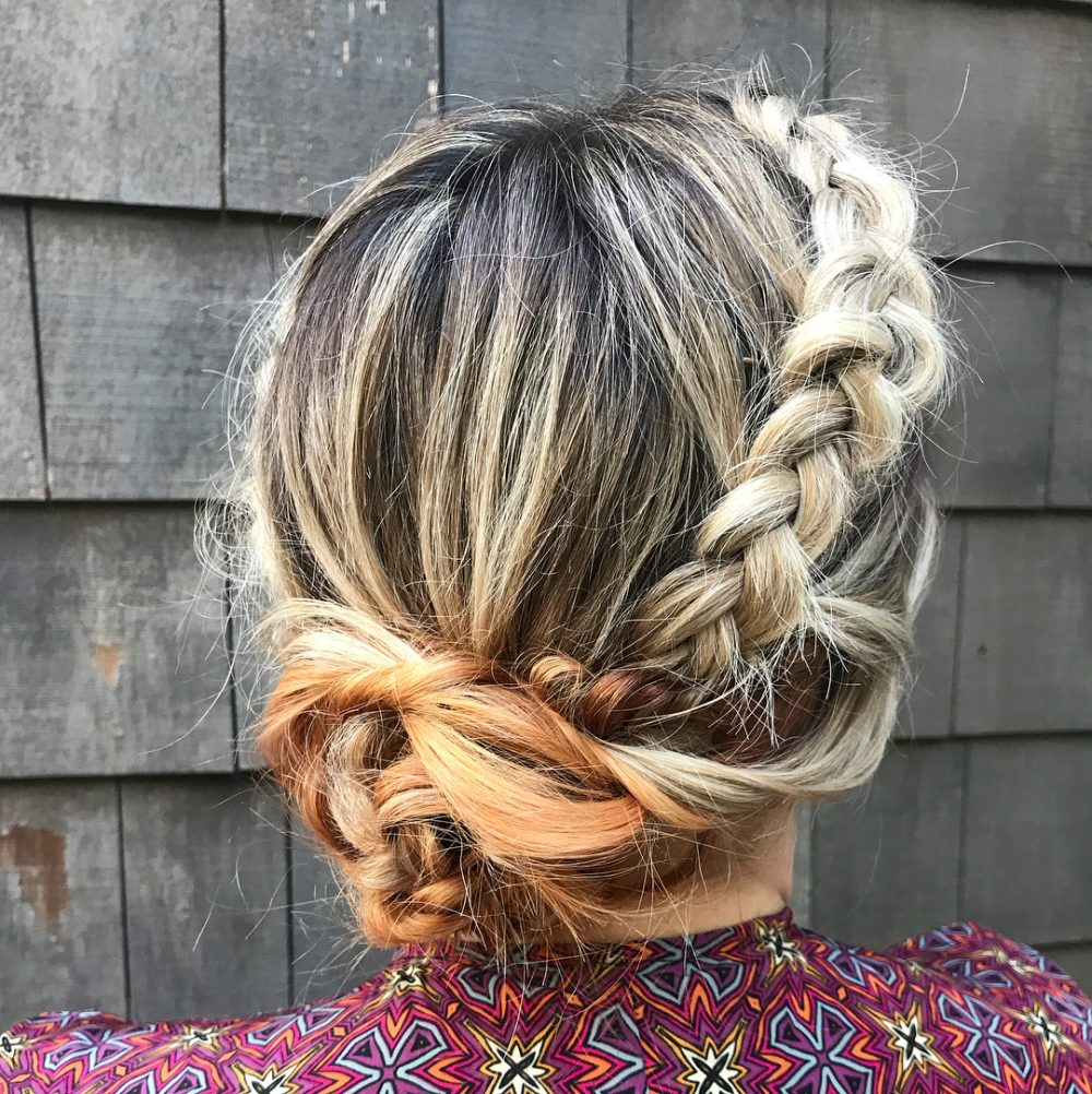 Edgy With a Touch of Romance hairstyle
