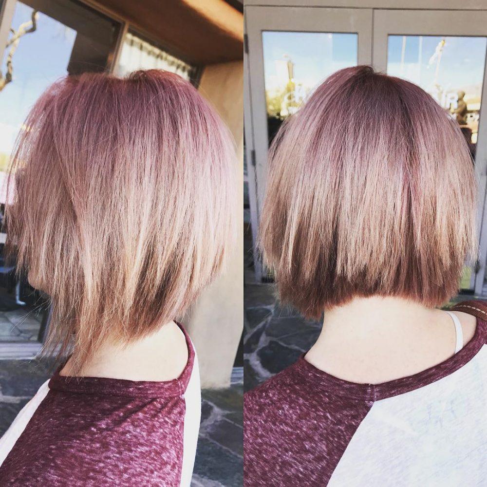 Edgy Angled Bob hairstyle