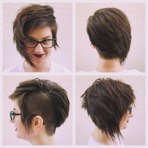 Edgy Asymmetric Haircut hairstyle