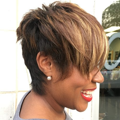 Edgy Razor Cut hairstyle