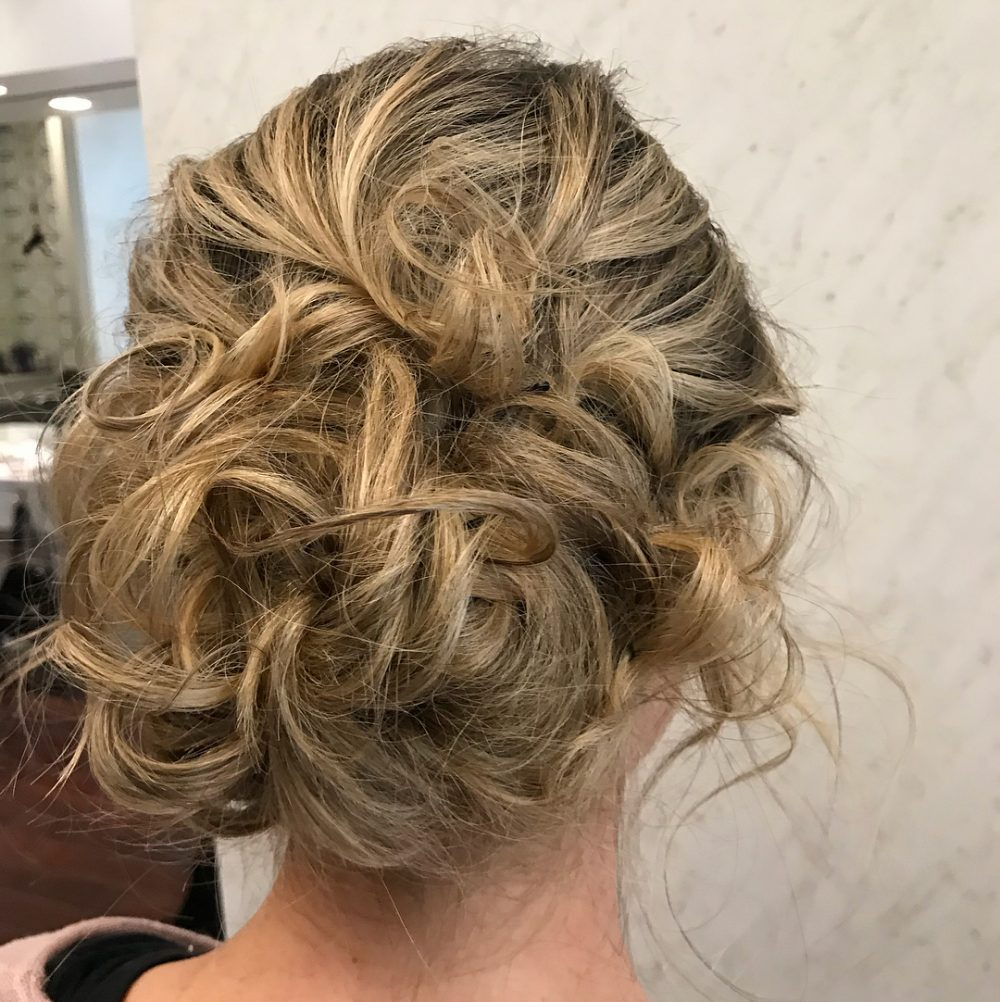 Effortless But Elegant hairstyle
