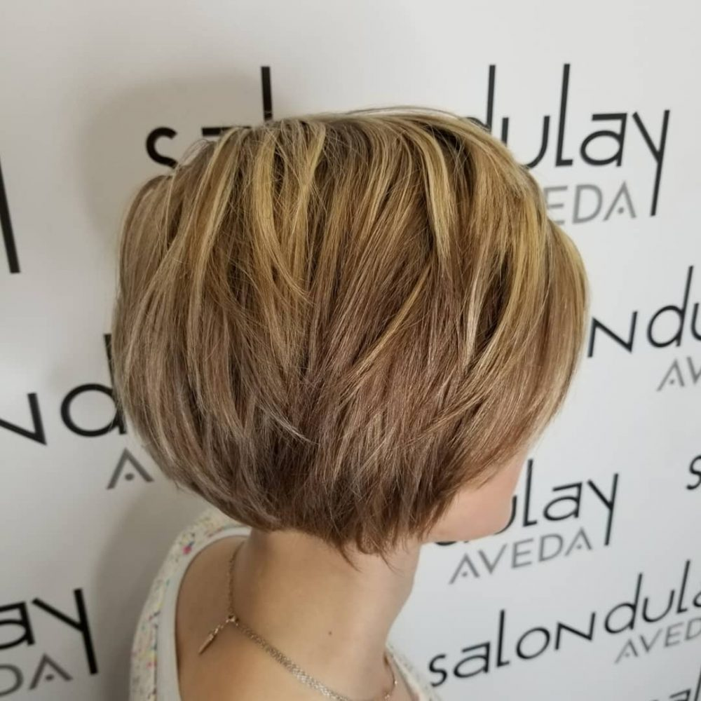 Effortless Choppy Layers hairstyle