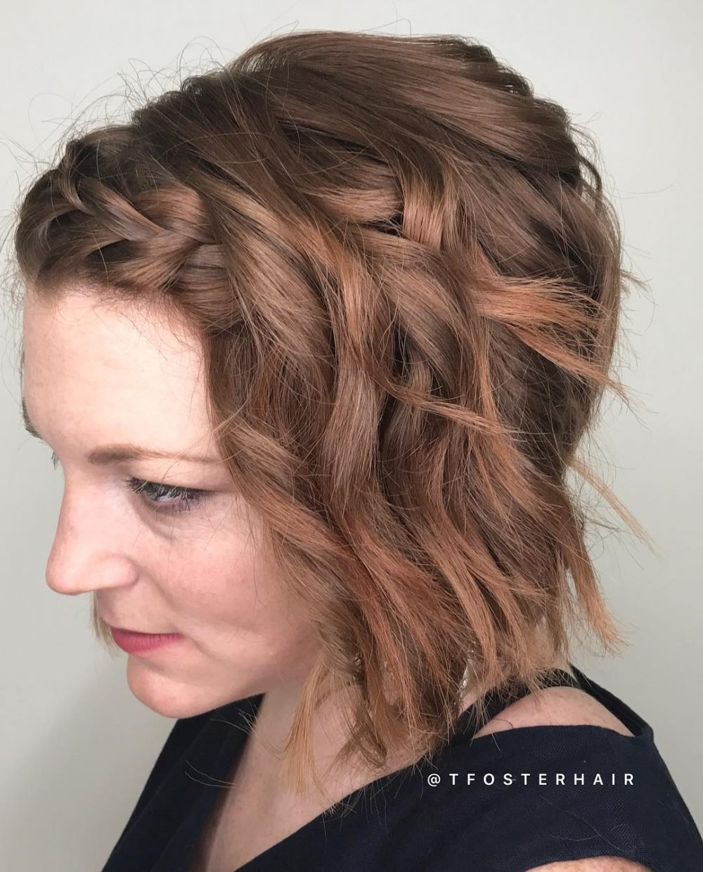 Effortless Glam hairstyle