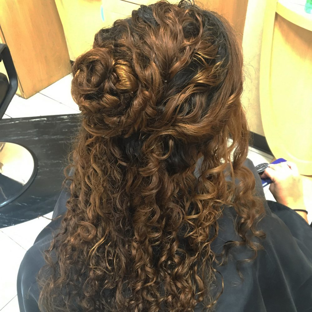 37 Curly Updos For Curly Hair See These Cute Ideas For 2018