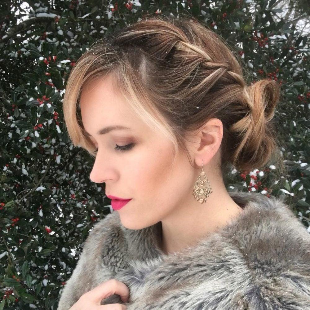 Effortlessly Elegant hairstyle