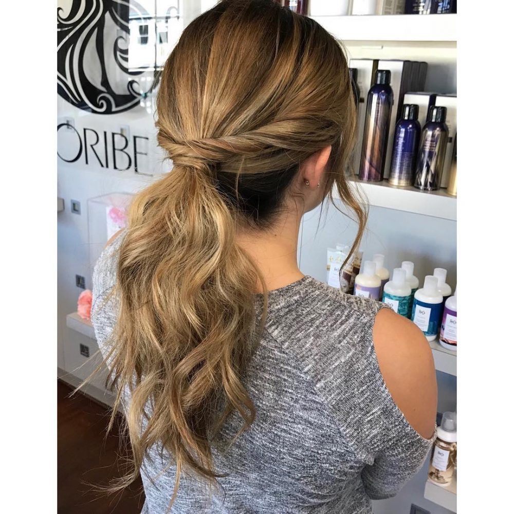 Cool 28 Incredibly Cute Ponytail Ideas For 2020 Grab Your Hair Ties Natural Hairstyles Runnerswayorg