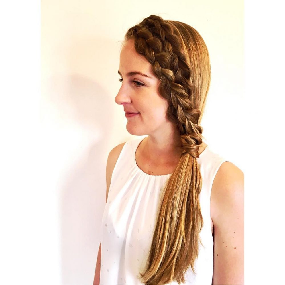 Effortlessly Romantic hairstyle