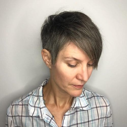 Effortlessly Edgy hairstyle