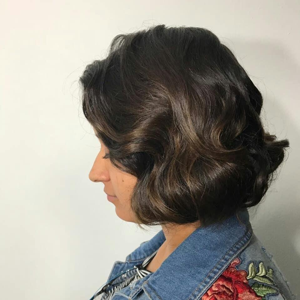 Elegance & Luxury hairstyle