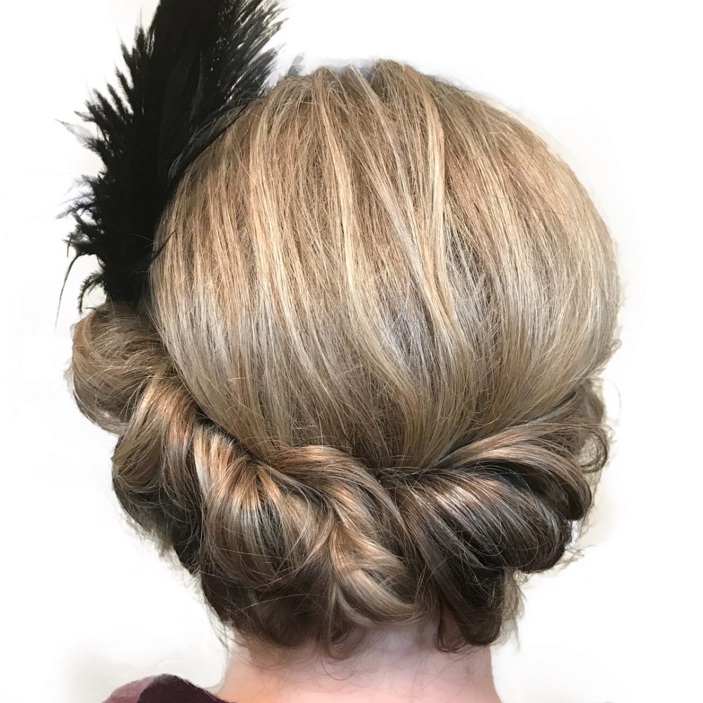 20s hairstyles updo