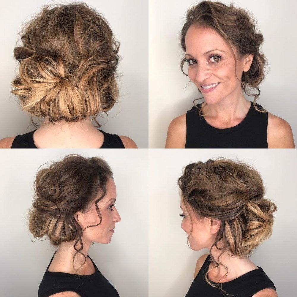 Elegant Boho Chic hairstyle