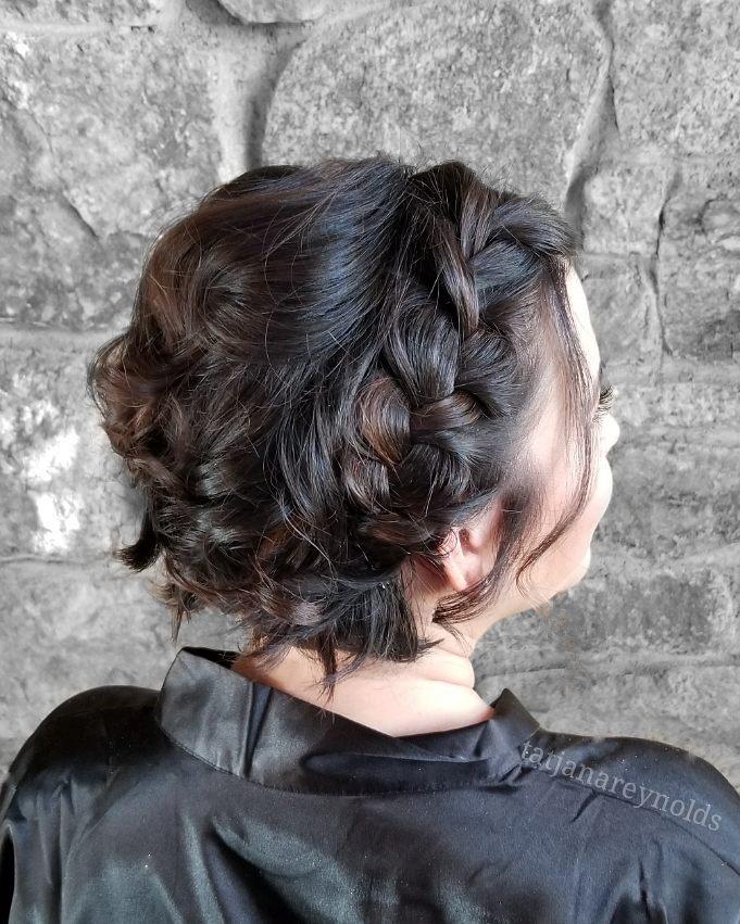 Elegant Dutch Braid hairstyle