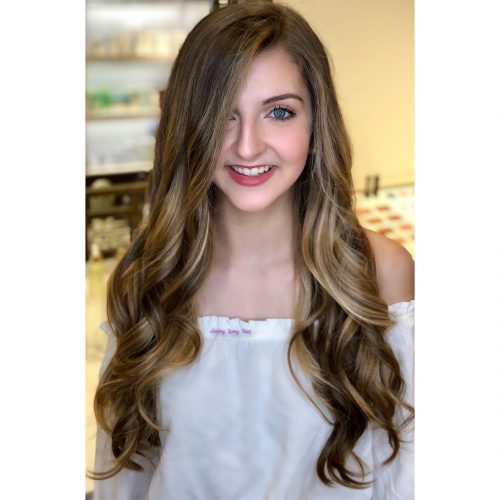 Picture of an elegant fun and sexy inspired waves