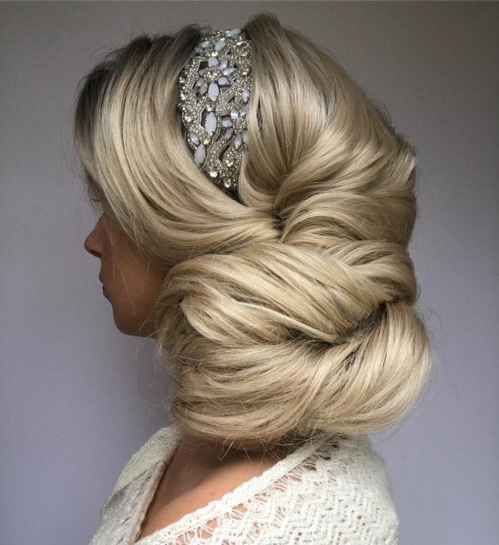 Elegant Side Updo hairstyle