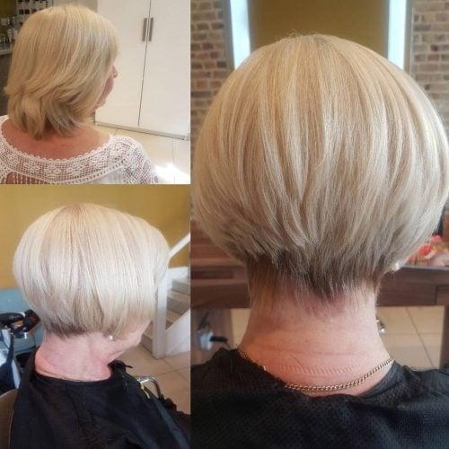 Elegant Graduated Bob hairstyle
