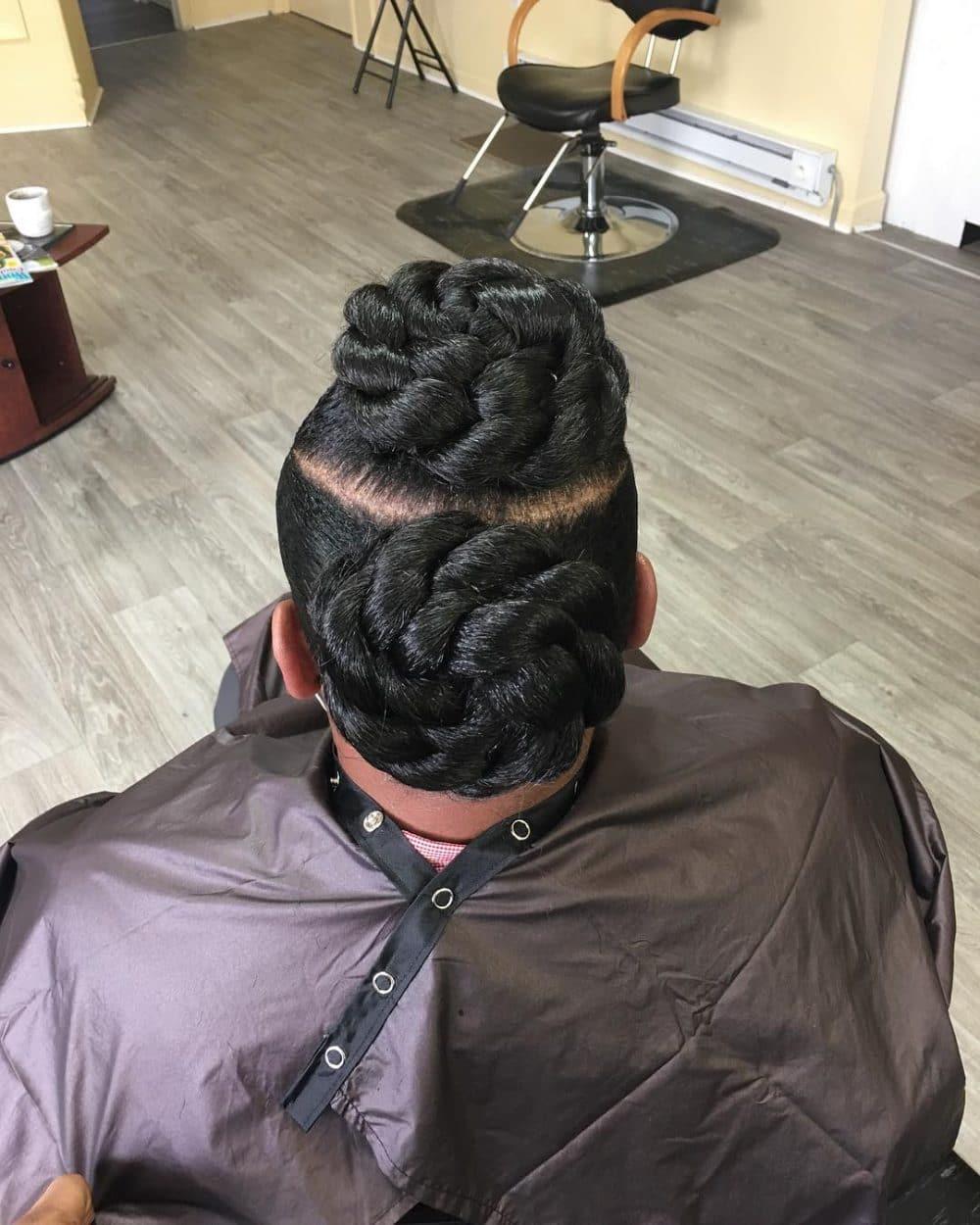 Elegant Updo hairstyle