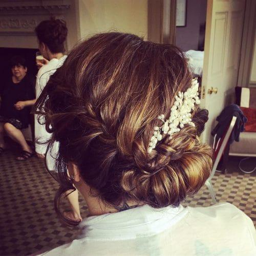 Elegant Yet Rustic hairstyle