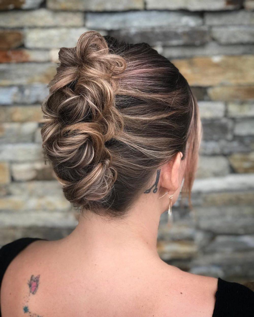 Elegantly Versatile Updo hairstyle