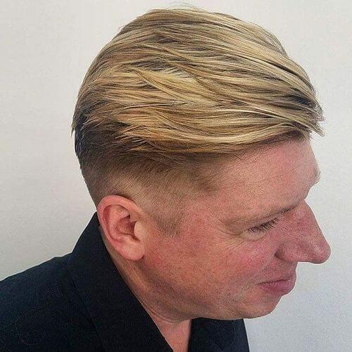 enhanced hair color for men
