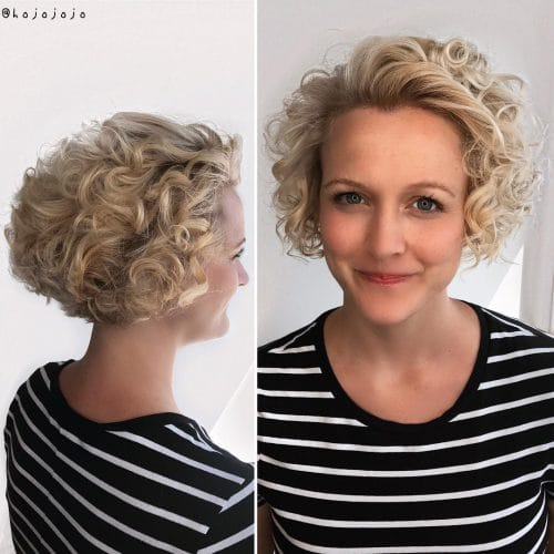 Enhanced Curls hairstyle