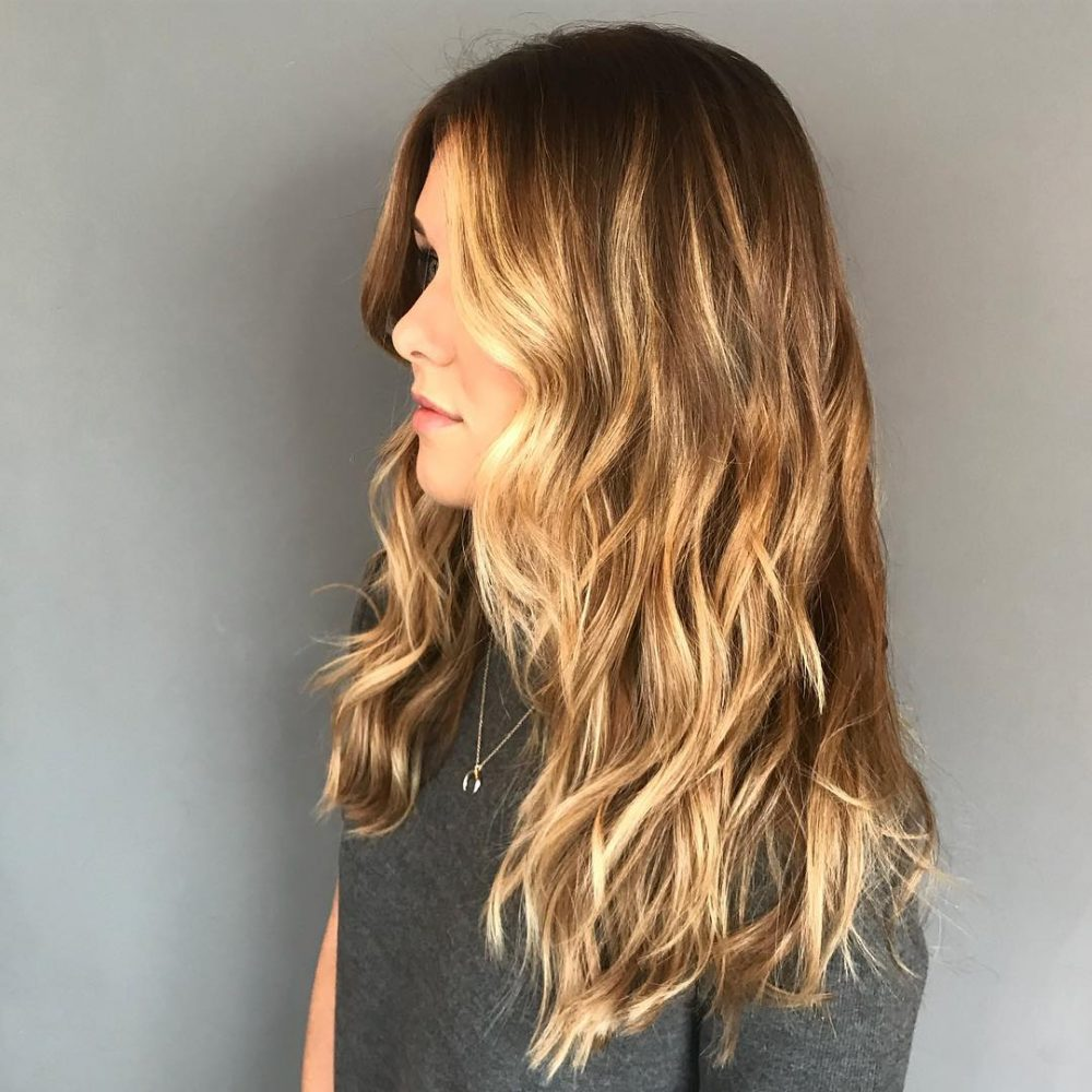 Face-Framing Balayage hairstyle