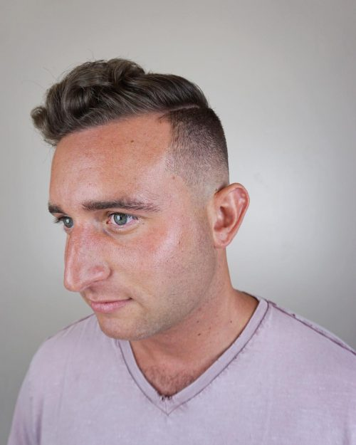 Desvanecimiento para cabello rizado
