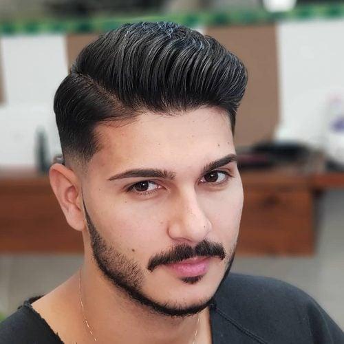Peine de baja intensidad con barba