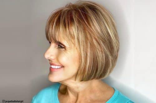 10 Trendy Fall Hair Colors for Women Over 60