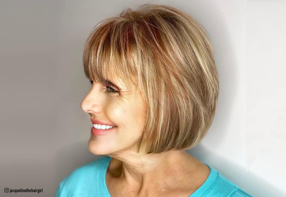 Top 10 Fall Hair Colors For Women Over 60 In 2020