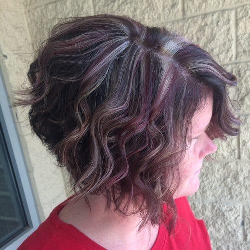 Fall-Inspired Bob hairstyle