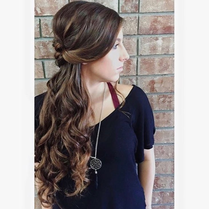 Fancy Romantic Updo hairstyle
