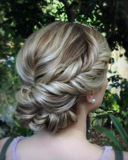 Picture of a fantastically twisted braids for mid-length hair