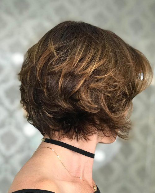 Short and Feathery Haircut