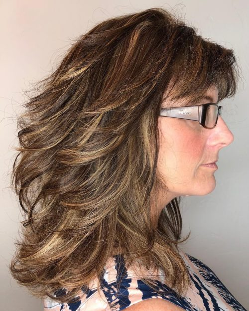 Choppy Low Maintenance Layered Haircuts For Thick Hair 99