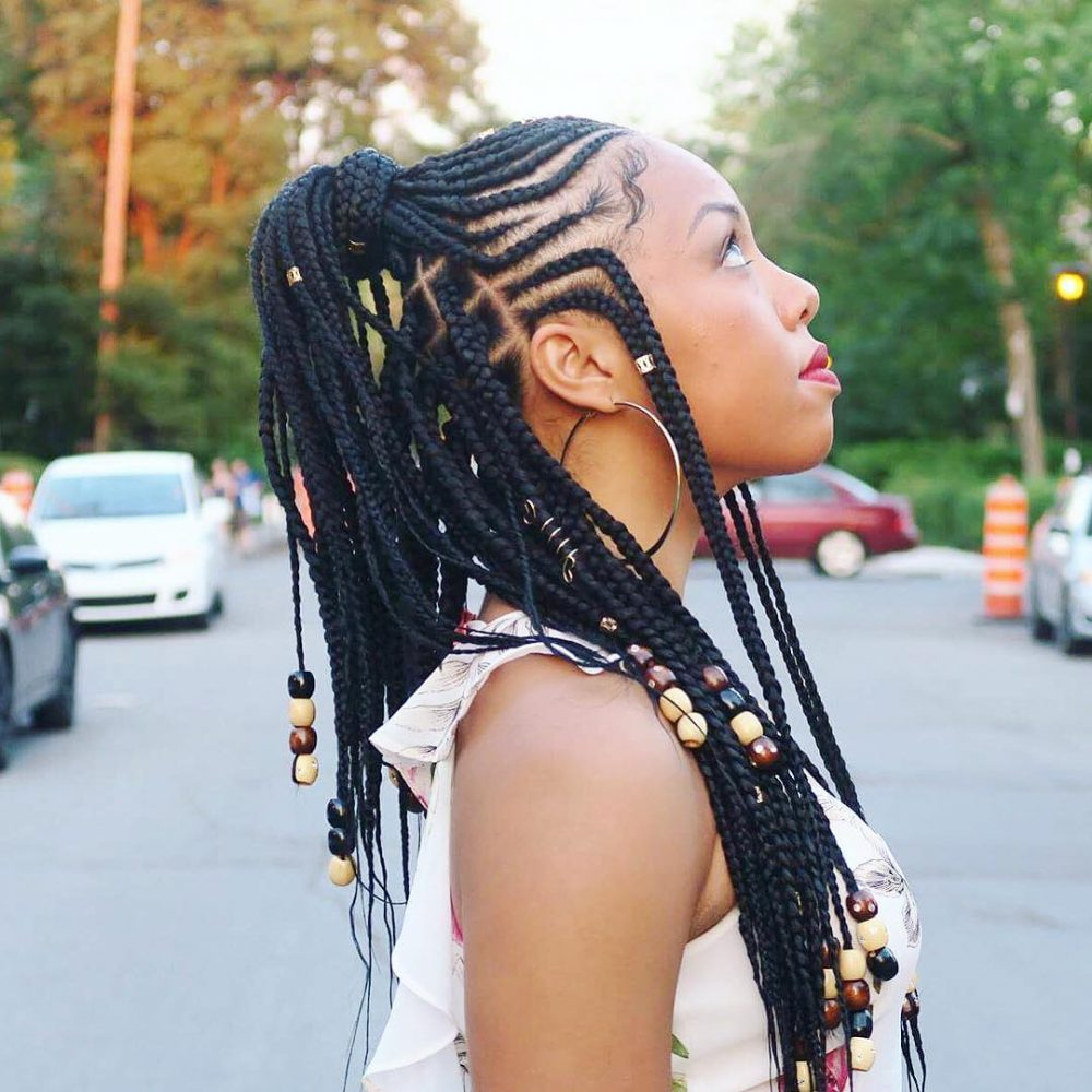 29 Hottest Feed In Braids To Try In 2021