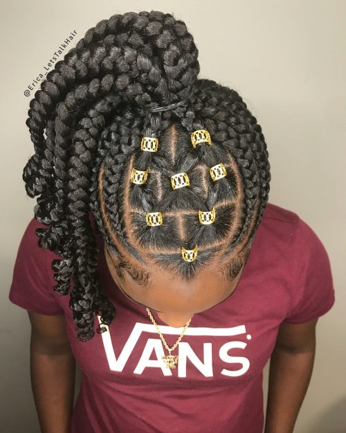23 Fantastic Feed In Braids For 2018