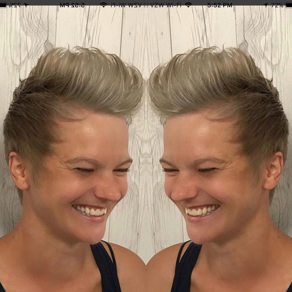 Feminine & Sassy Pixie hairstyle