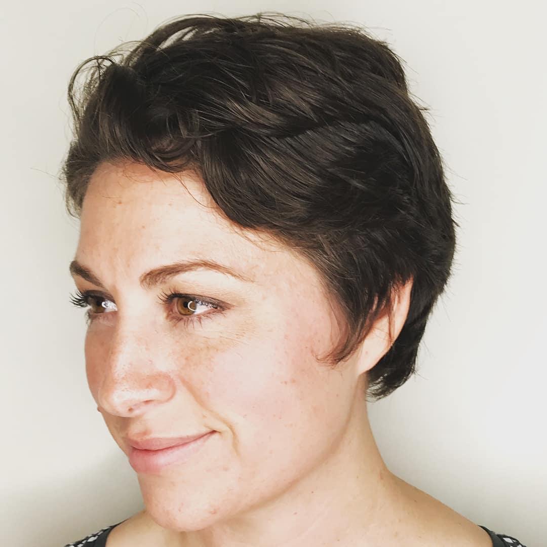 Feminine Texture hairstyle