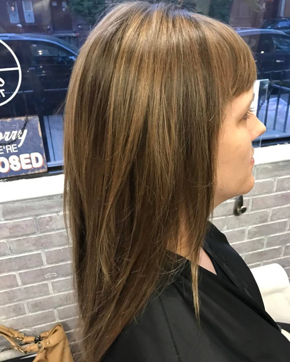 Layers & Honey hairstyle