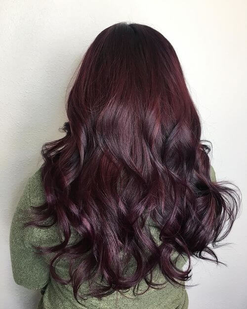 33 Brilliant Burgundy Hair Color Ideas Trending In 2018