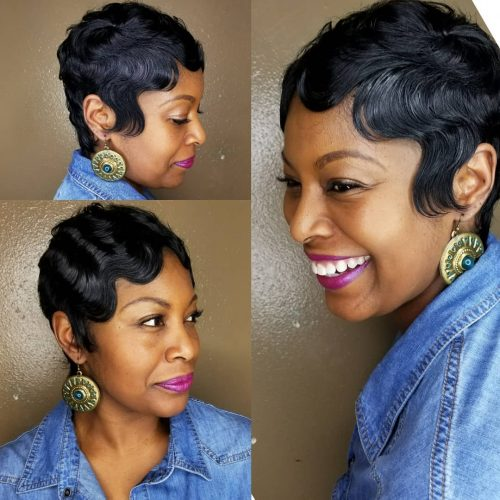 finger wave weave for african american women