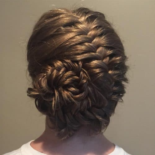 Fishtailed French Braid hairstyle