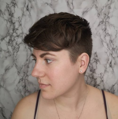 Androgynous hair short How To