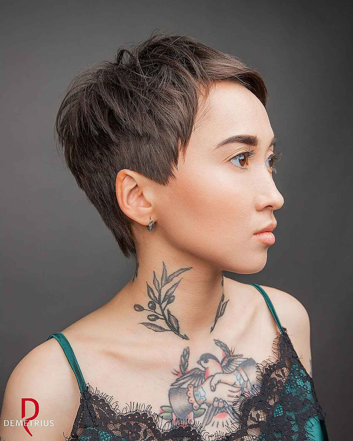 Flattering Pixie Cut for Thin-Haired Women