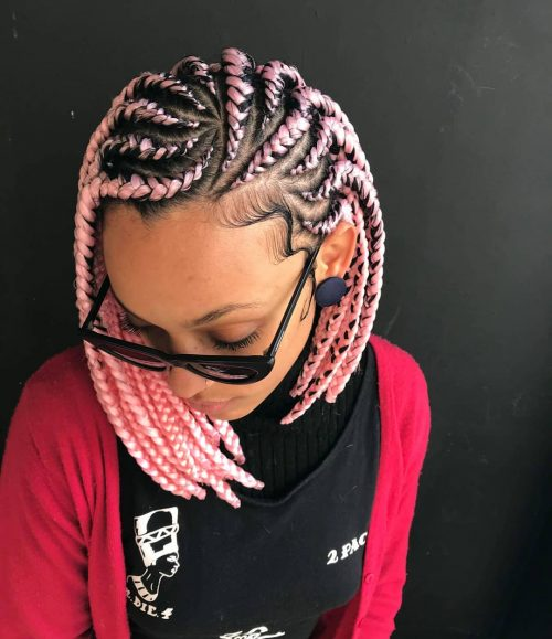 17 Best Ghana Weaving Styles Braids Hairstyles For 2020
