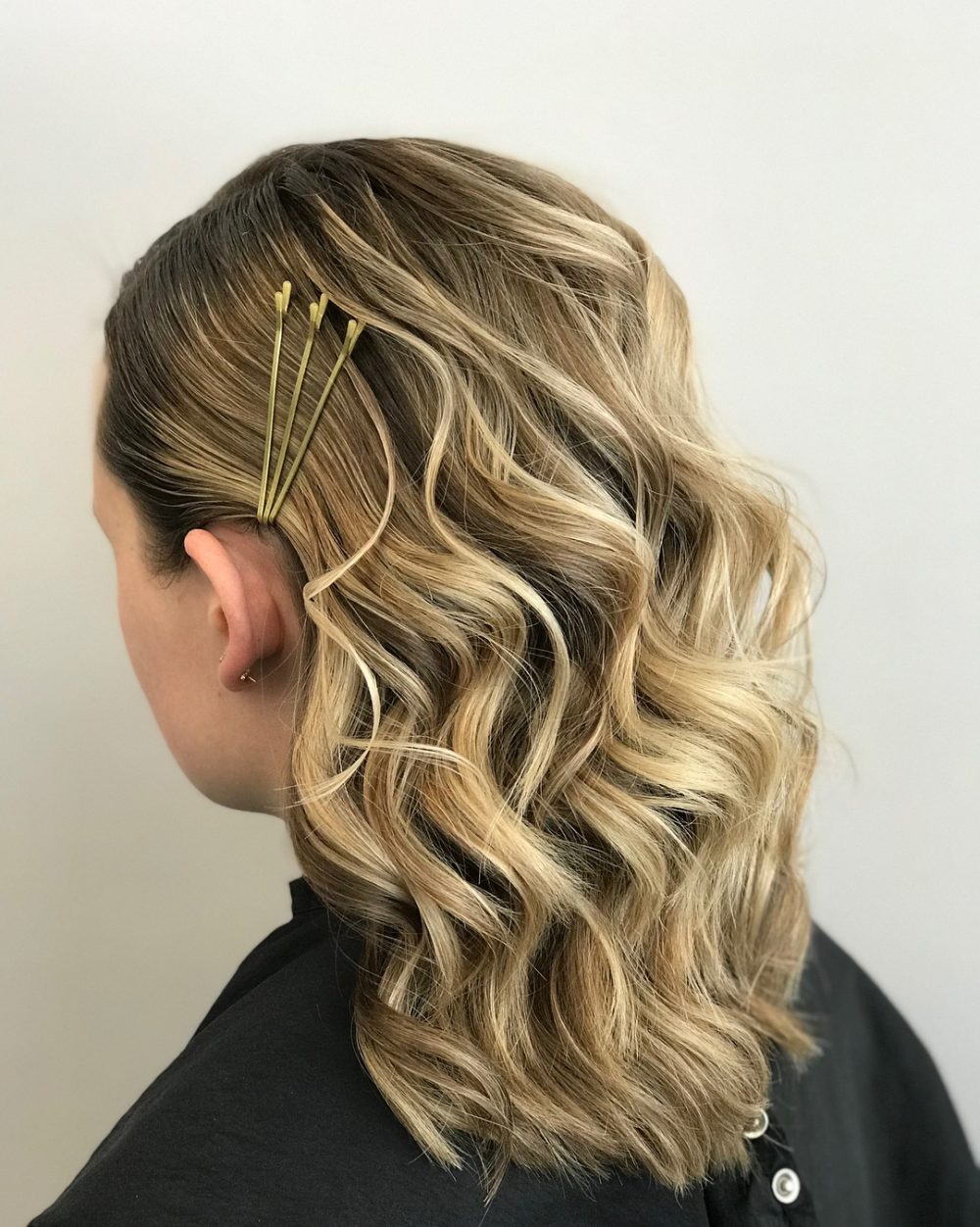 Formal Bobby Pins hairstyle