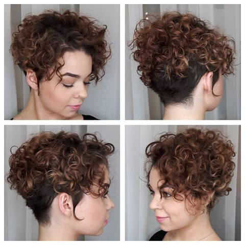 33 Perfectly Short Curly Hairstyles Trending In 2019