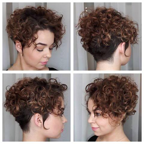Foxy Undercut hairstyle