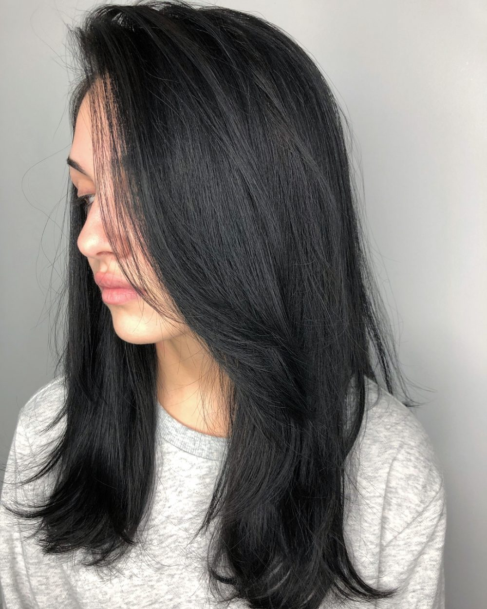 Free Flowing hairstyle